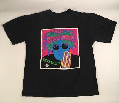 VTG 90s SMOKIN GROOVES tour t shirt RAP CYPRESS HILL OUTKAST THE ROOTS PEPSI
