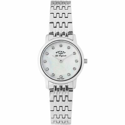 Rotary Ladies mother of pearl dial with crystals markers