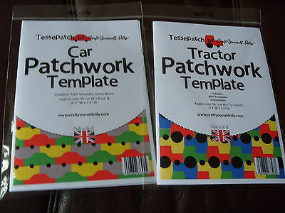 Tessepatch Car and Tractor Patchwork Templates
