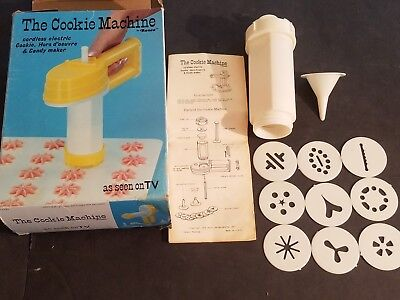 Ronco The Cookie Machine As Seen on TV for Parts Vintage 1976