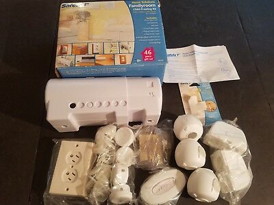 NEW IN BOX Safety 1st Home Solutions Family Room Child Proofing Kit 46 Piece