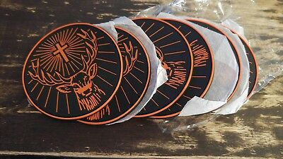 NEW Lot of 10 Jagermeister Jager Rubber Coasters
