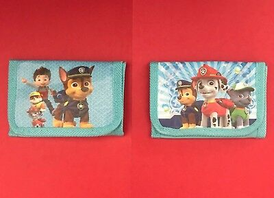 Brand New PAW PATROL Wallet Tri-Fold coin purse Childs  Choose design Quick Ship