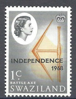 1968 Swaziland MNH Sc 144 Queen Independence