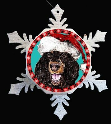 Gordon Setter Original Art Christmas Ornament - SALE!
