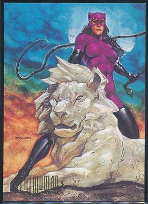 1994 DC Master Series Trading Card #35 Catwoman