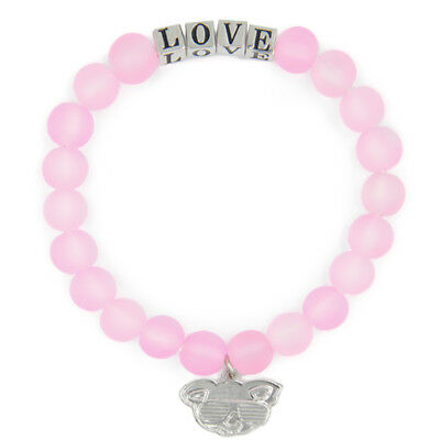 Pink LOVE Friendship Bracelet Inspirational Meaningful Unique Gift Beaded
