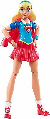 """6"""" DC Super Hero Girl Collectible Action Figure Non Removable Outfit Play Toy"""