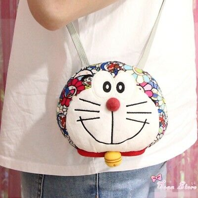 2018 UNIQLO DORAEMON X Takashi Murakami Limited Plush Coin Bag Toy NEW Kids Gift