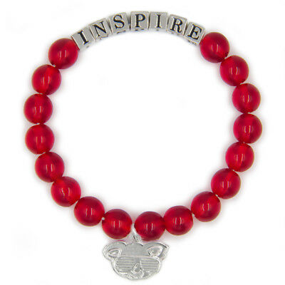 Red INSPIRE Friendship Bracelet Inspirational Meaningful Unique Gift Beaded
