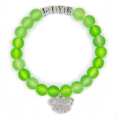 Green LIVE Friendship Bracelet Inspirational Meaningful Unique Gift Beaded
