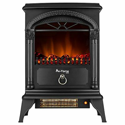 Hamilton 22 Inch Portable Electric Fireplace Stove Indoor Heater