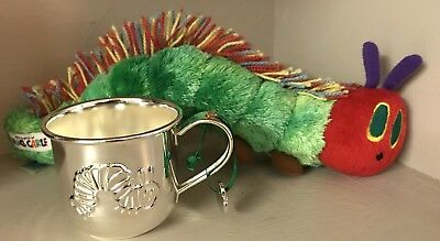 The Very Hungry Caterpiller Silver Plated Cup & Plush Hungry Caterpillar Toy
