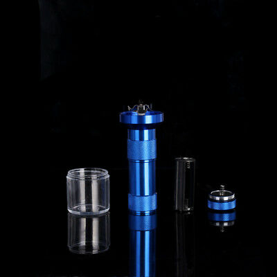 New Smoke Grinders Aluminum Electric Tobacco Grinder Herb Spice Crusher Quickly