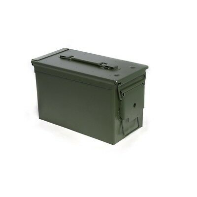 Ammo Can Military Grade 50 Cal M2A1 All-metal Heavy Gauge Steel Ammo Storage