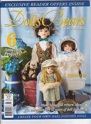Australian Dolls, Bears & Collectables - Volume 16 No 05 - 2009