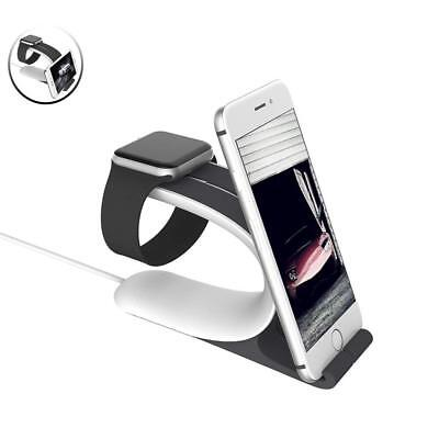 Apple Watch Stand, Mobius 2-in-1 Smart Watch Charging Holder for Apple Watch