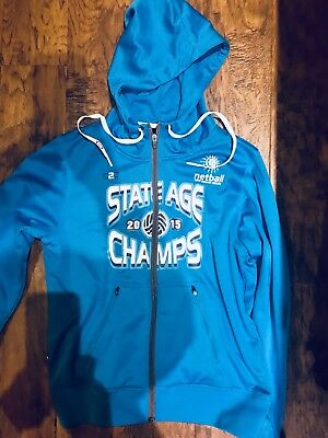 Netball state age champs Training Gear. Hoodie Jacket NWOT