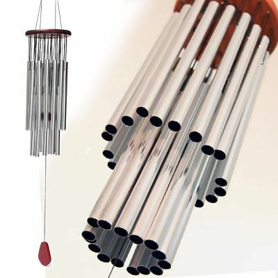 Large Wind chime 27 Tubes Chapel Bells Wind Chimes Door Hanging Home Decor BT