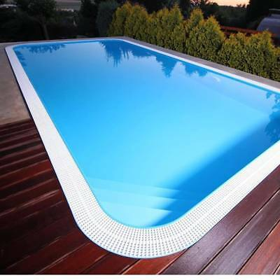 Overflow Custom  Swimming Pool 1 Piece Dura Polymer 50 Yr Life