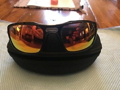 4c717e3e026 OAKLEY TRIGGERMAN OO9266-03 Polished Black Ruby Iridium Men s Sunglasses  59mm