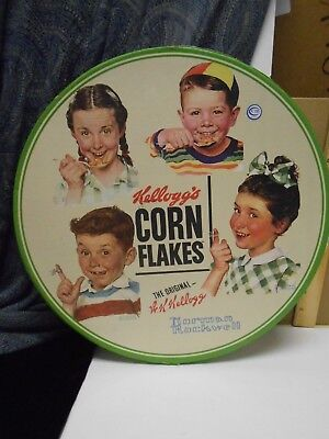 Set of Four [4] Norman Rockwell Kelloggs in box cereal cups set great condition