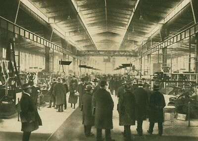Leipzig Trade Fair Textile Machines Exhibit Photo 1930