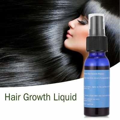 30ml Essence Unisex Anti Hair Loss Pilatory Hair Care Hair Growth Serum Spray