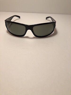 21488a3c6af RAY BAN POLARIZED RB 4057 601 58 Black Sunglasses (Made In Italy)