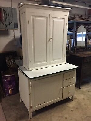 Antique Hoosier Style Kitchen Cupboard