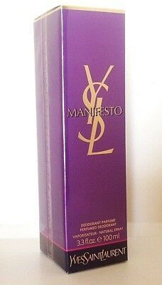 Manifesto Yves Saint Laurent Deodorant Parfume 100ml. YSL spray vapo