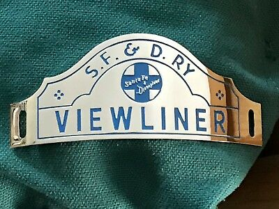 Disneyland Viewliner Hat Badge Reproduction - Rare!