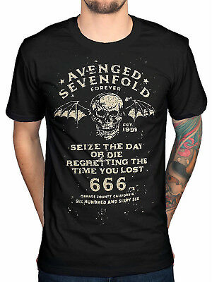 New Popular Avenged Sevenfold Seize The Day Tee Top T-Shirt Reprint