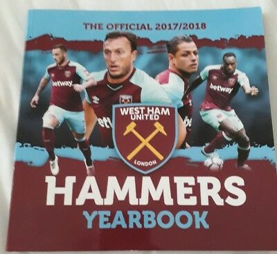 Official Hammers Yearbook 2017/18 - West Ham Yearbook 2018 - West Ham Annual