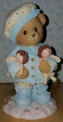 NEW Cherished Teddies - Louella - Forever Near to Warm Your Days - 4008956