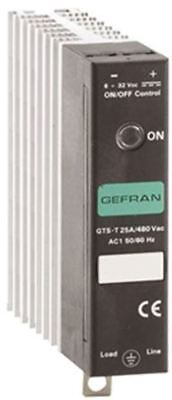 Gefran 25 A Solid State Relay, Zero Crossing, Panel Mount SCR, 530 V ac Maximum