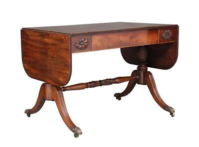 19Th Century William Iv Mahogany Sofa Table