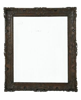 Early 19Th Century Carved Oak Mirror