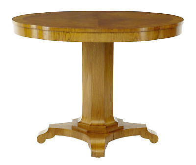 19Th Century Shaped Elm Center Occasional Table