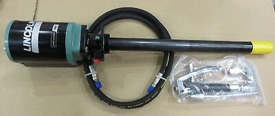 New  Lincoln PMV Grease Pump, Control Valve with Swivel  Hose, 50:1 ratio, air
