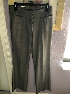 Womens Xoxo Gray  Wide Leg Dress Pants Size 1-2