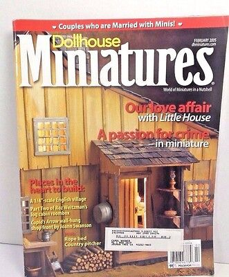 Dollhouse Miniatures Magazine A Passion for Crime