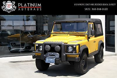 Defender 90 Yellow Land Rover Defender with 150,710 Miles available now!