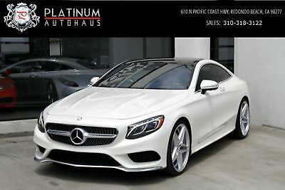 S-Class S550 4MATIC White Mercedes-Benz S-Class with 34,445 Miles available now!