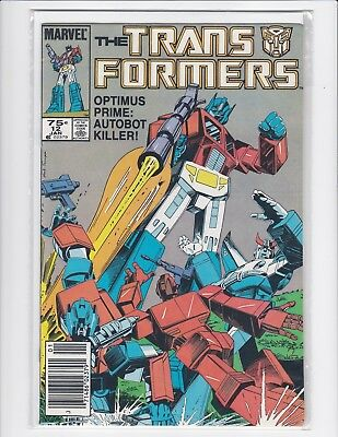 Transformers #12 - Marvel - 1985- Near Mint