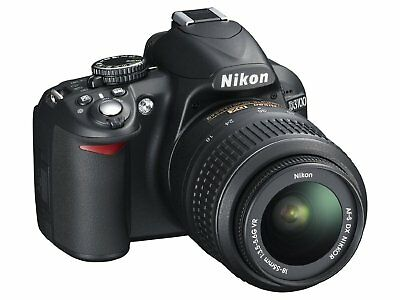 Nikon D3100 DSLR Camera with 18-55mm Lens EUC Low Shutter count 4360 ONLY