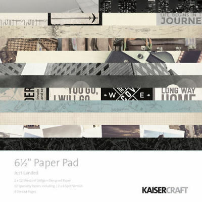 "KAISERCRAFT Scrapbooking Paper Pads 6.5 x 6.5"" - Just Landed - Nini's Things"