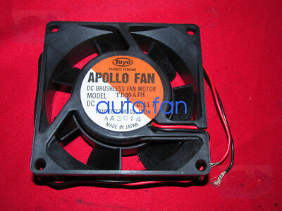 For 1pc TOYO APOLLO TD92A78 Cooling fan 24V 0.07A 2wire 90*25mm