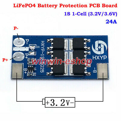 1S 2A 3 2V 18650 LiFePo4 LiFe Battery Charger BMS PCB