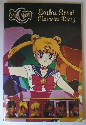 Sailor Moon Sailor Scout Character Diary *New*